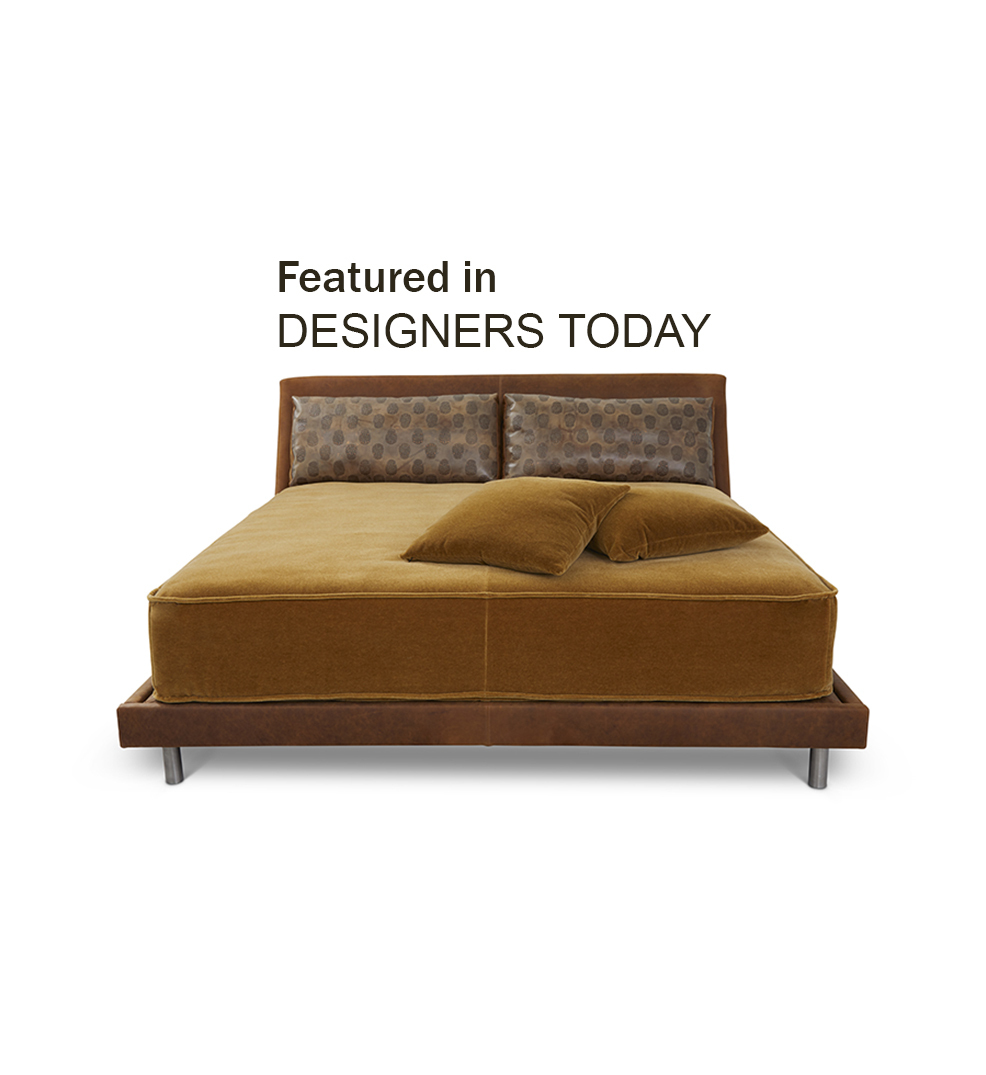 450 Bed Featured in DESIGNERS TODAY